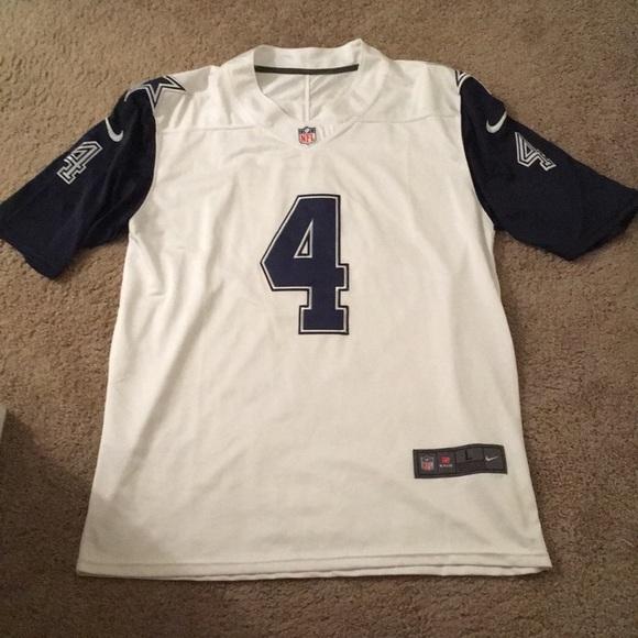 Dak Prescott Dallas Cowboys Nike Color Rush Jersey.  M 5a51a2fb1dffda3001040cf1 1d11f518a